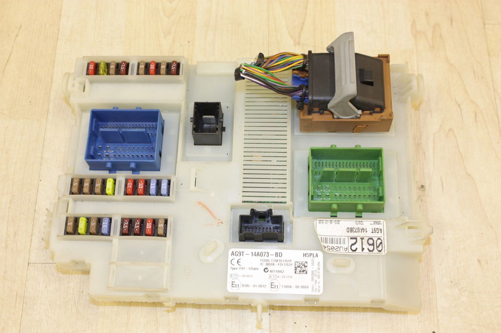 Fuse Box Ford Mondeo Mk4 Electrical Wiring Diagrams Fusion Uk Tdci Body Control Module Bcm Ag9t 14a073 Bd